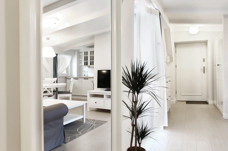 Apartamenty kamienica Sopot dekorator wnętrz