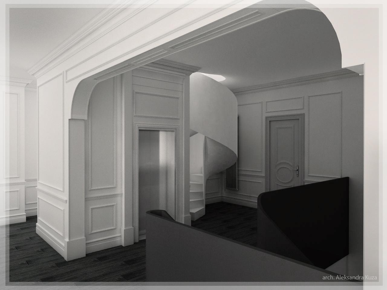 Rezydencja Dom jednorodzinny projekt Aleksandra Kuza
